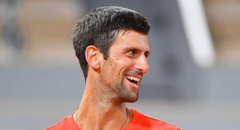 Djokovic: «Educaram-me para ser honesto. Por isso digo que quero ser o melhor da história»