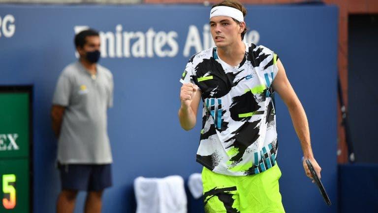 Fritz dispara serviço mais rápido do US Open e salva a honra americana