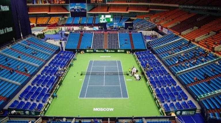 ATP e WTA de Moscovo cancelados devido ao aumento de casos de Covid-19 na Rússia