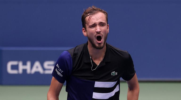 Medvedev faz no US Open aquilo que só outros oito tenistas conseguiram