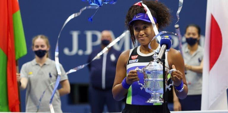 Eis o novo top 10 WTA: Osaka regressa ao top 3 e Azarenka às 15 primeiras