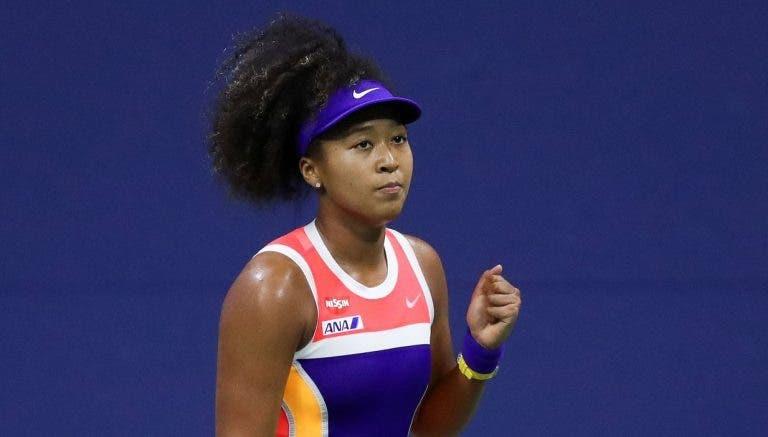 Osaka impõe-se a Brady em duelo fabuloso e está na final do US Open pela 2.ª vez