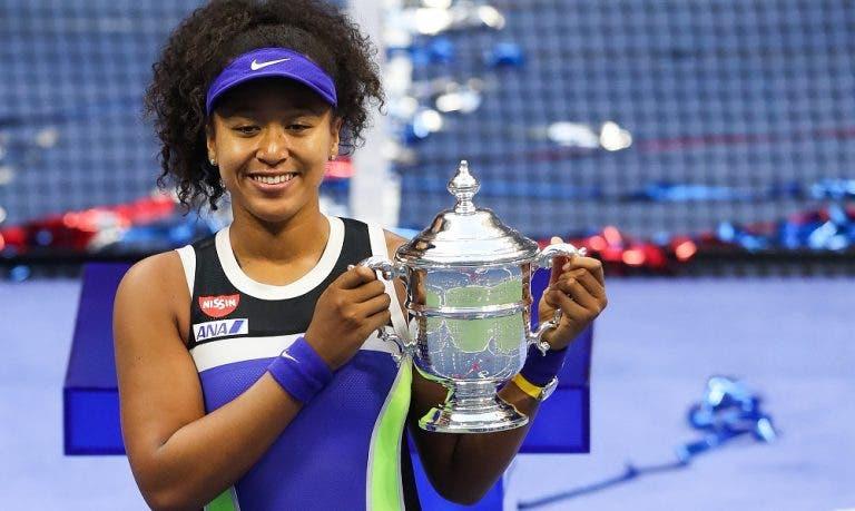 Naomi Osaka conquista no US Open o seu terceiro Grand Slam