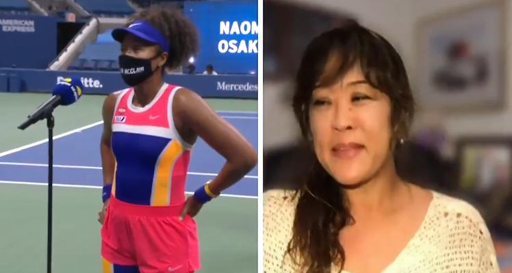 [VÍDEO] Osaka foi surpreendida pela mãe no US Open, mas nem tudo correu bem