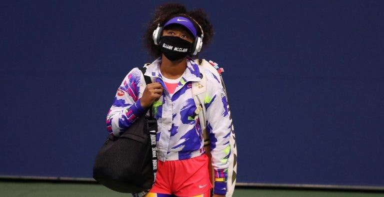 Osaka continua a jogar muito e já está na terceira ronda do US Open