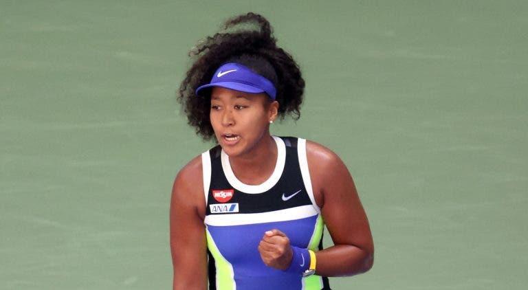 Osaka precisa de 3 sets, mas compra bilhete para os 'oitavos' do US Open