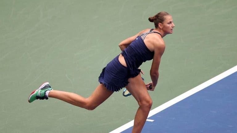 Primeira cabeça-de-série Pliskova é eliminada da 2ª ronda do US Open por antiga top 5 mundial