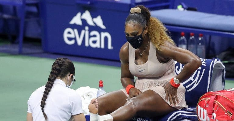 Serena Williams desiste do torneio de Roma horas antes do sorteio
