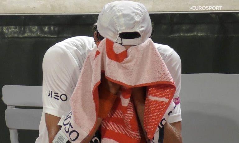 João Sousa tem inflamação no tendão e vai parar mais 10 dias