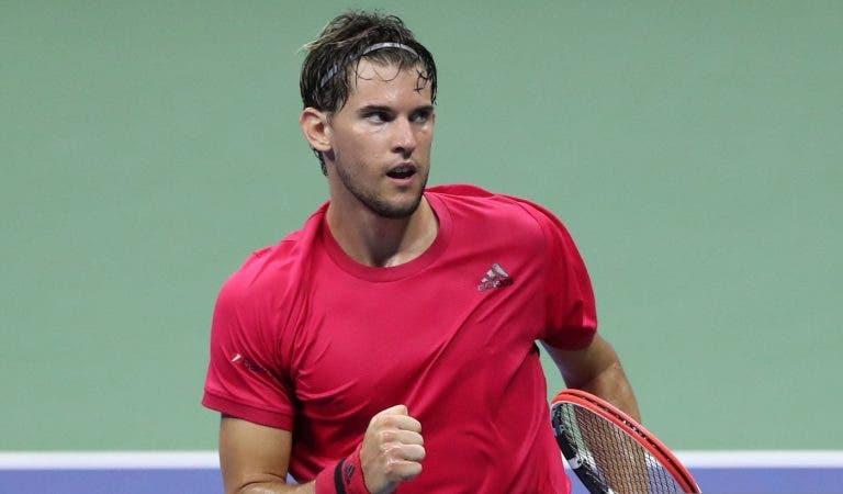 Thiem demasiado forte para Medvedev rumo à quarta final de Grand Slam da carreira