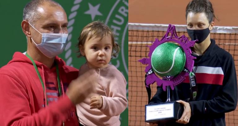 'Mamã' Tig bate Bouchard (que salvou sete match points) e conquista primeiro título WTA
