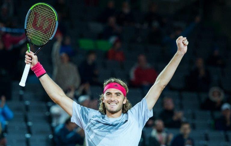 Hamburgo: Tsitsipas e Rublev jogam final de luxo no mesmo dia em que já começa Roland Garros