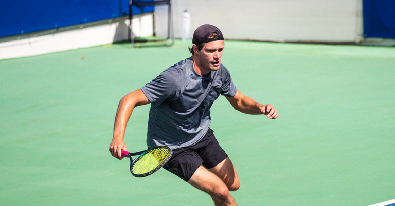 Cação verga tenista gaulês e 'espera' por Nuno Borges ou M. Zverev nos 'quartos'