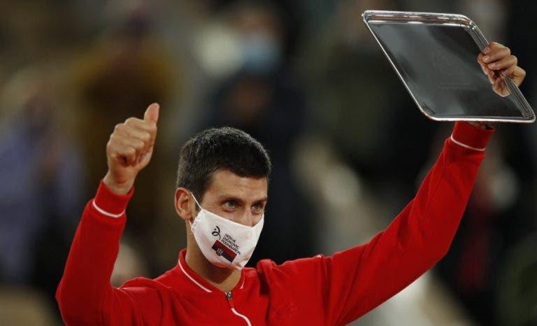 Djokovic anuncia presença no ATP 500 de Viena com um objetivo em mente