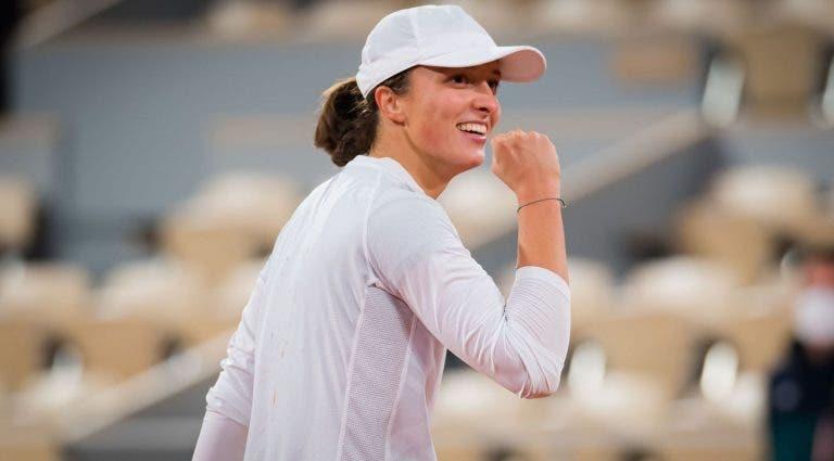 Swiatek e o título em Roland Garros: «Sabia que era capaz de vencer Grand Slams»