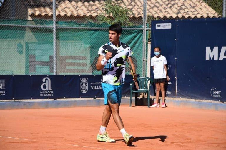 Que talento: Alcaraz conquista segundo Challenger em duas semanas com título em Alicante