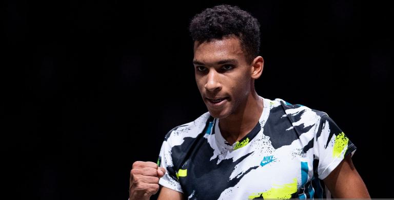 Auger-Aliassime tem nova chance para um primeiro título ATP na final de Colónia