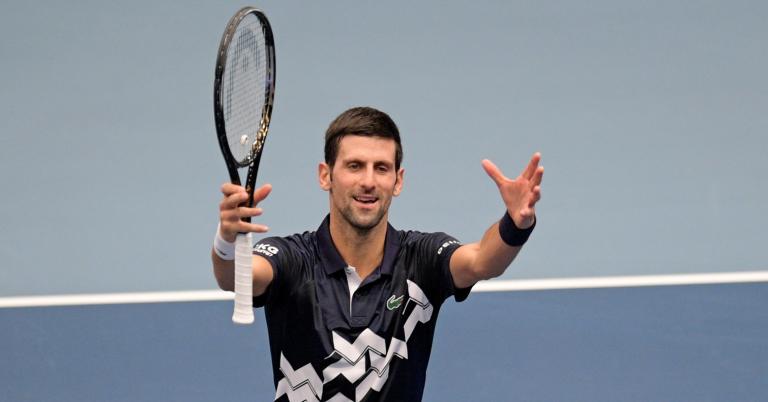 Presidente da ATP garante que tem conversa pendente com Djokovic