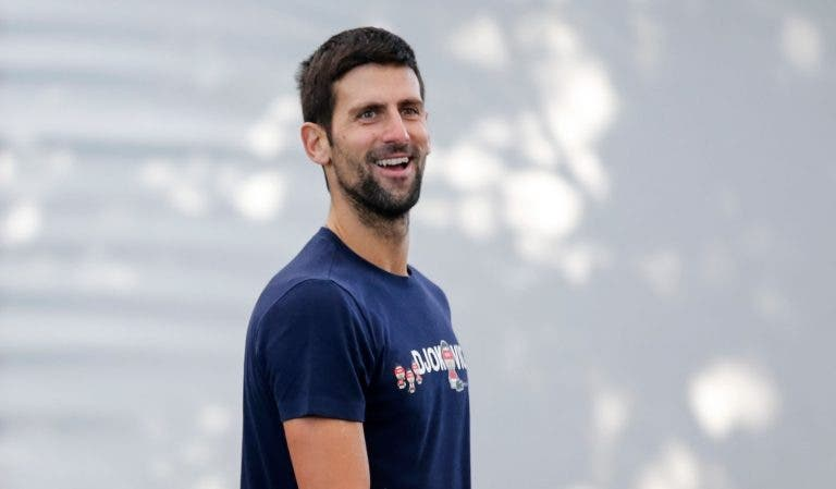 Djokovic perto de igualar recorde de Sampras: «É o meu ídolo e significaria muito»