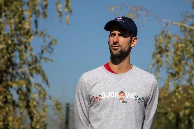 Djokovic: «Vencer um Grand Slam equivale a ganhar um Campeonato do Mundo»