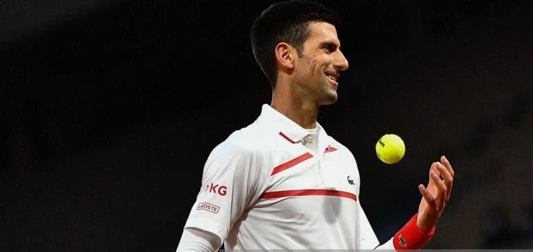Djokovic junta-se a Federer e Nadal em estatística impressionante nos Grand Slams
