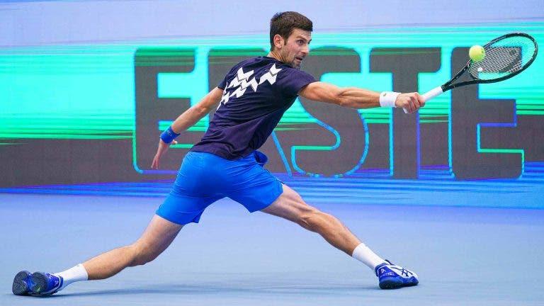 Djokovic elogia Sinner: «Tem potencial para ser número um do mundo»