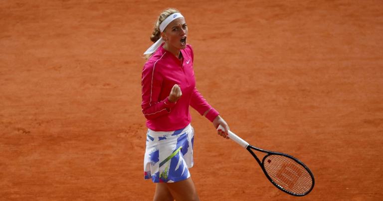 Kvitova regressa aos 'quartos' de Roland Garros oito anos depois