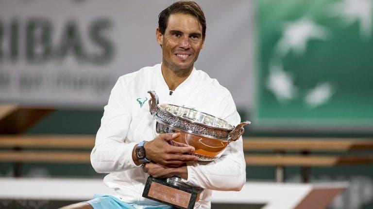 Quais os dois títulos mais complicados para Nadal em Roland Garros? O espanhol não tem dúvidas