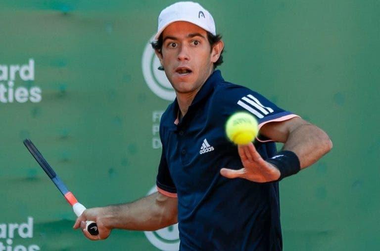 Nuno Borges ameaça recuperação mas perde com Clezar no Lisboa Belém Open