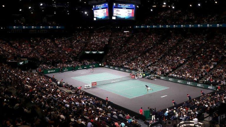 Masters 1000 de Paris vai mesmo acontecer e com público nas bancadas
