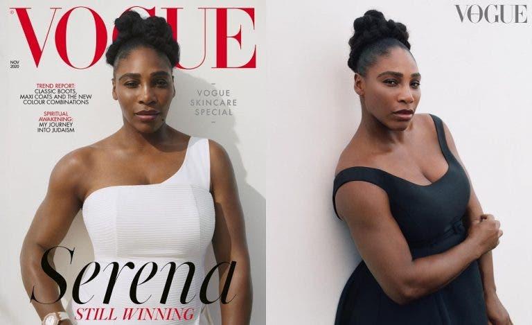 Serena Williams faz capa na Vogue britânica