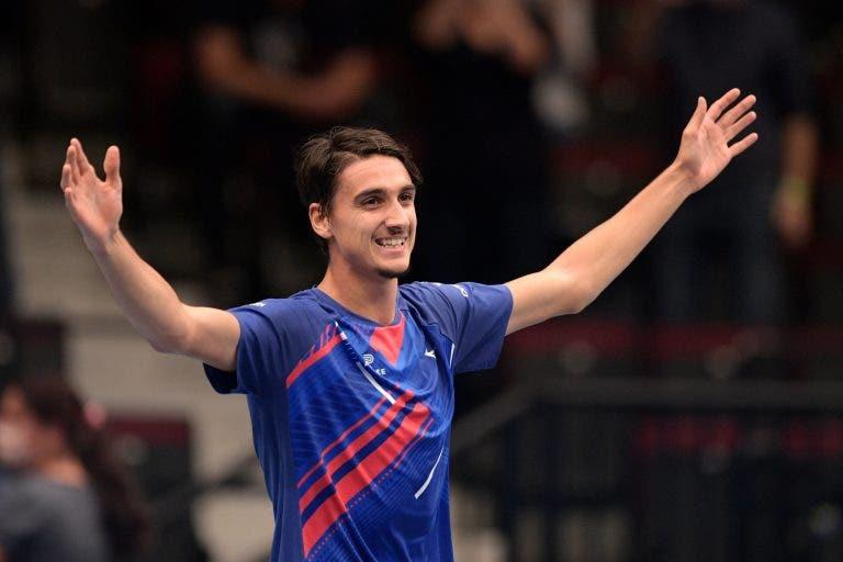 Sonego 'imita' Pedro Sousa e é o segundo lucky loser na final de um ATP em 2020