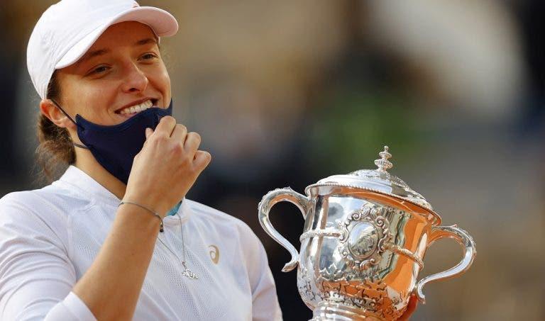 Swiatek revela momento em que percebeu que podia vencer Roland Garros