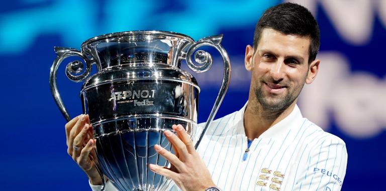 Djokovic e o troféu de n.º 1 pela 6.ª vez: «É de todos os que sempre acreditaram em mim»