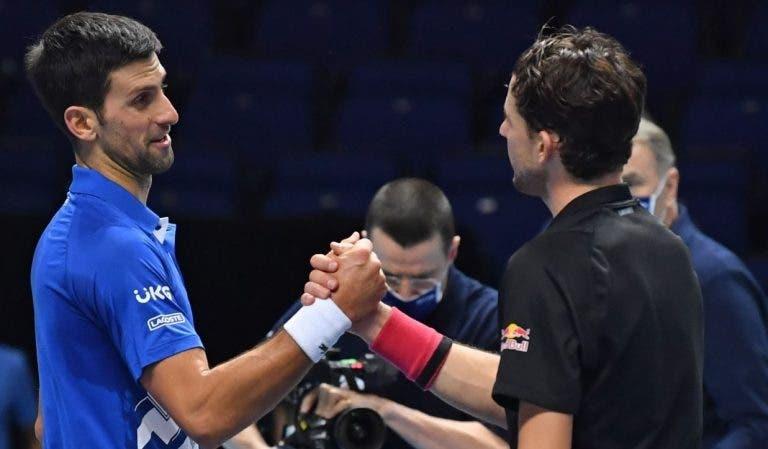 Djokovic: «O que ele fez no tie-break do terceiro set foi surreal»