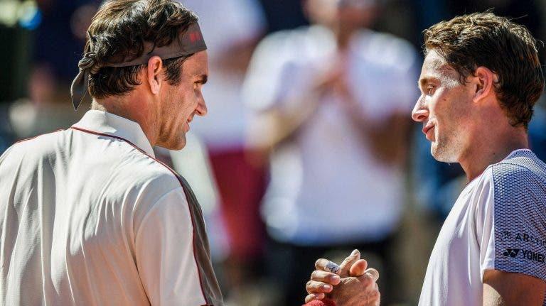 Ruud e o que sentiu ao ver Federer pela primeira vez: «Quando ele entra numa sala, todos se calam»