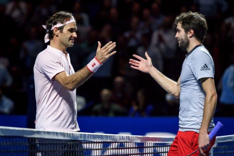 Simon: «Quando joguei contra o Federer, o meu filho mais velho torceu pelo Roger»
