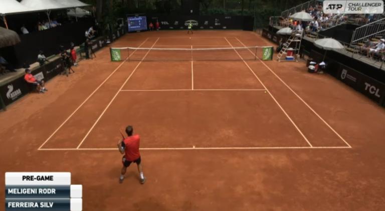 Siga a final do Challenger de São Paulo em DIRETO: Frederico Silva vs. Felipe Meligeni