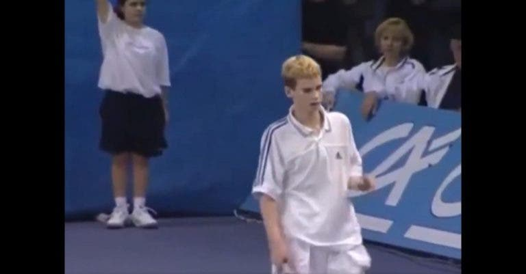 [VÍDEO] Veja como jogava Andy Murray aos 13 anos