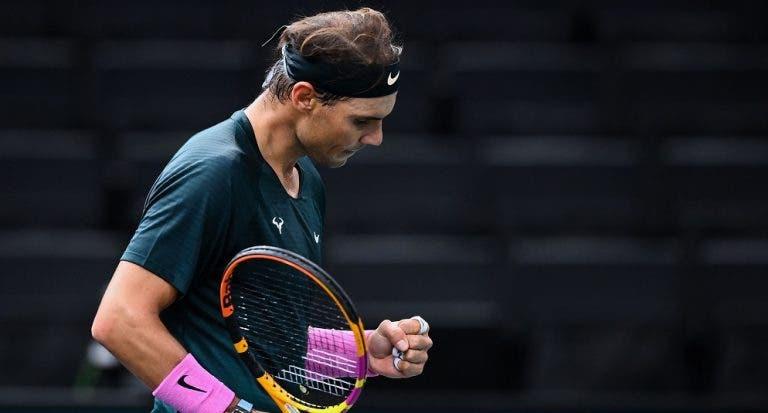 HISTÓRICO: Nadal resiste a López em duelo muito duro e alcança a vitória 1000 no circuito ATP