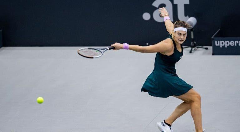 WTA de Linz vai ter a melhor final possível: Sabalenka contra Mertens