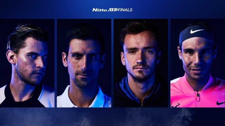 ATP Finals: Londres recebe hoje um dos melhores dias de ténis de 2020