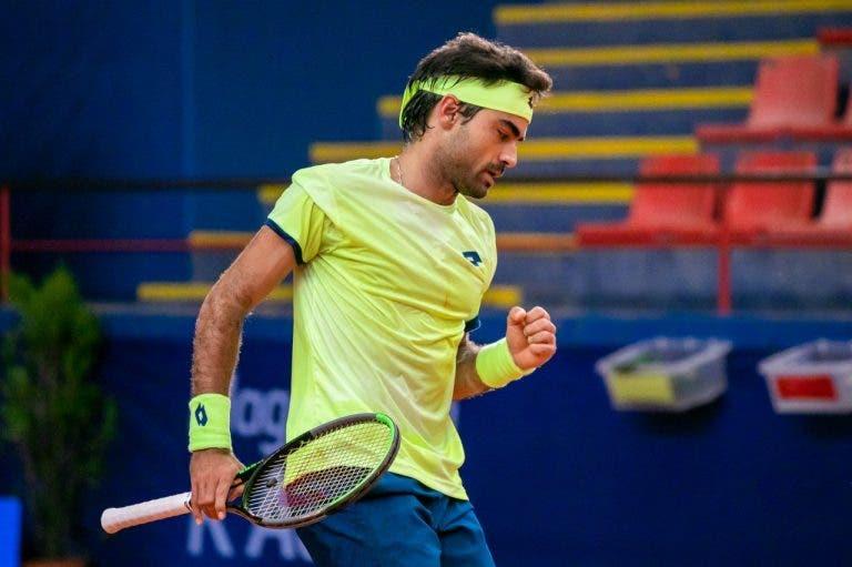Frederico Silva cumpre sonho e vai jogar o quadro principal de um Grand Slam pela primeira vez