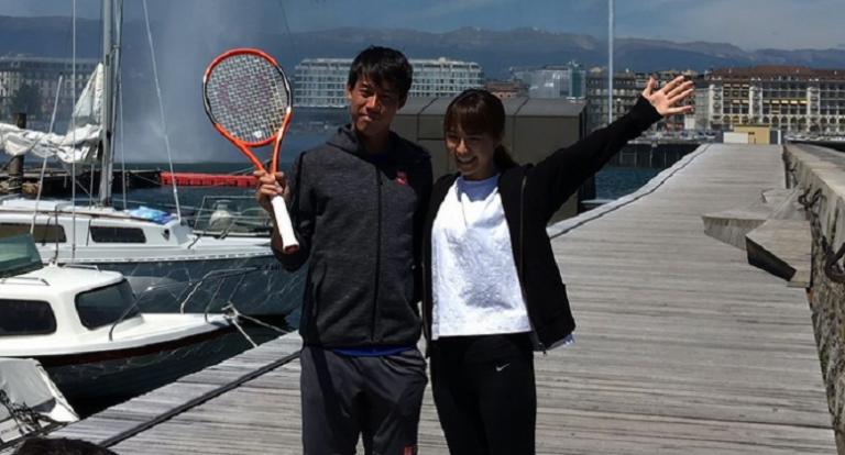Kei Nishikori casou em segredo no Japão com a sua namorada