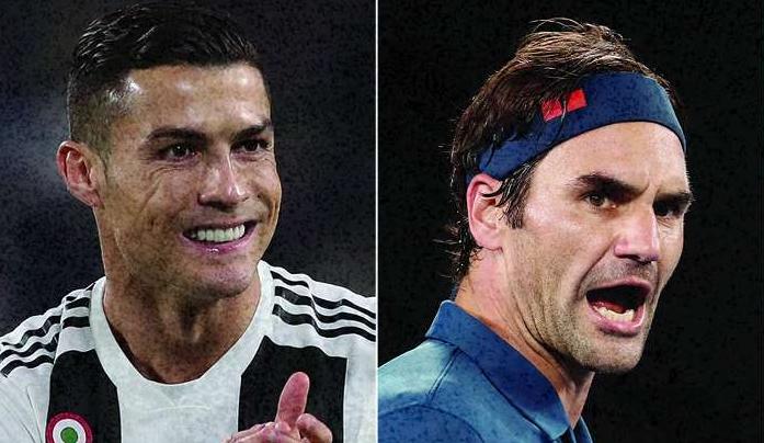 Cristiano Ronaldo rendido à longevidade de Federer: «A chave está na cabeça»