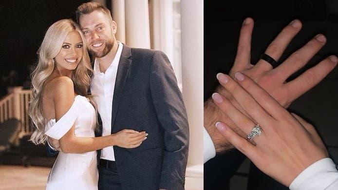 Jack Sock casou aos 28 anos com modelo norte-americana
