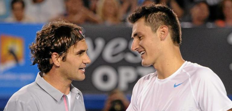 Tomic revela o momento em que Federer deixou de ser o seu ídolo