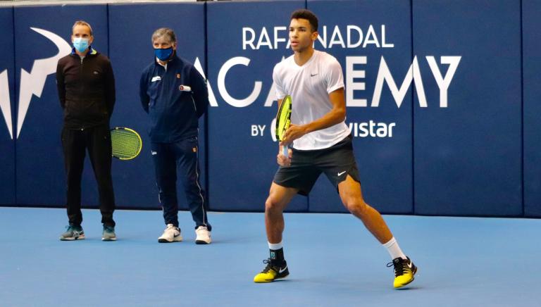 Djokovic e a parceira Toni Nadal/Auger Aliassime: «Não me surpreendeu»
