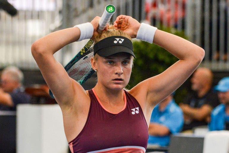 Yastremska leva nega e não vai poder jogar na Austrália
