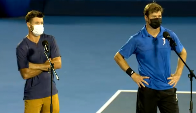 Irmãos Harrison atingem a primeira final ATP juntos